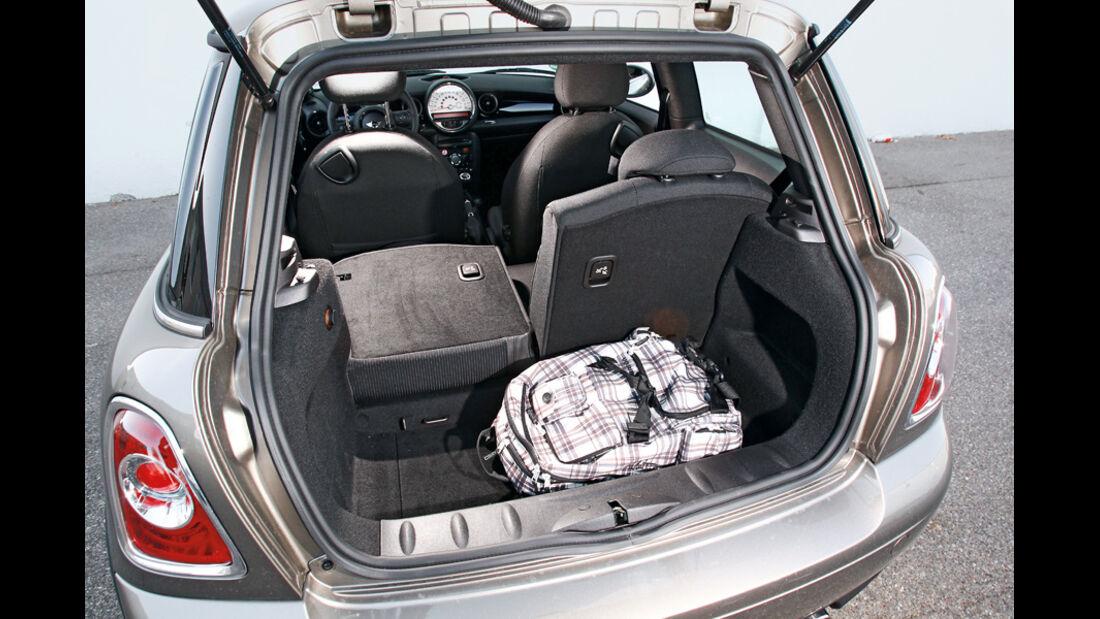 Mini One, Kofferraum