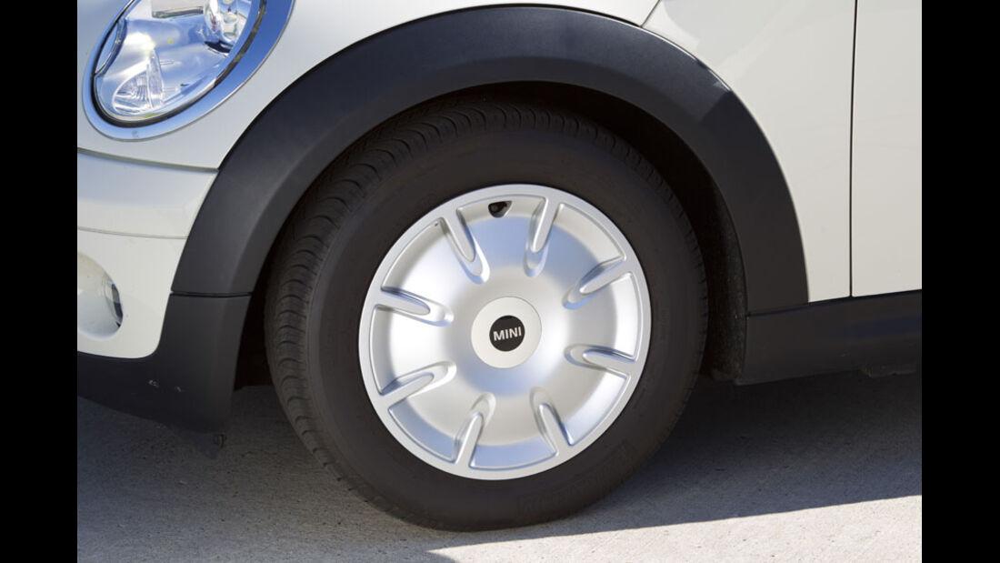 Mini One Minimalist, Reifen