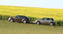 Mini One, VW Beetle 1.2 TSI
