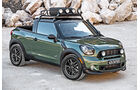 Mini Paceman Adventure, Frontansicht