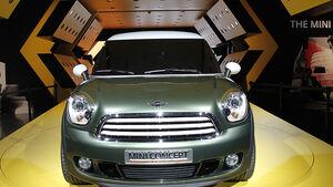 Mini Paceman, Detroit Motor Show, Rundgang