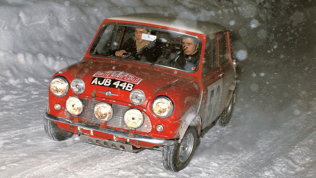Mini Rallye Monte Carlo 1965 Mäkinen Easter