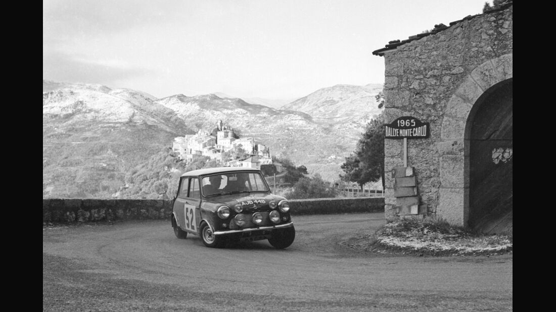 Mini - Rallye Monte Carlo 1965
