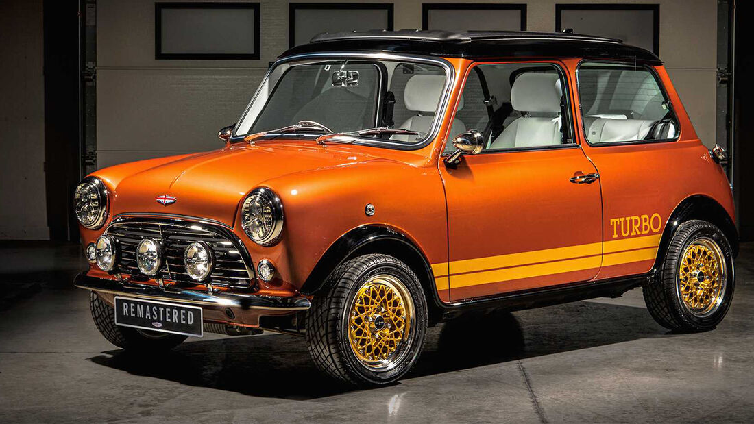 Mini Remastered Sahara Gold David Brown Automotive