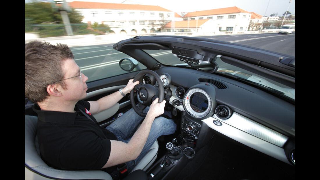 Mini Roadster, Cockpit