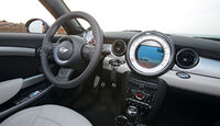 Mini Roadster, Cockpit
