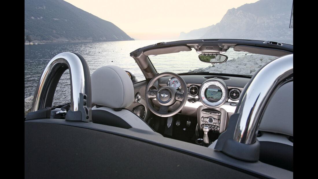 Mini Roadster Cooper S, Cockpit