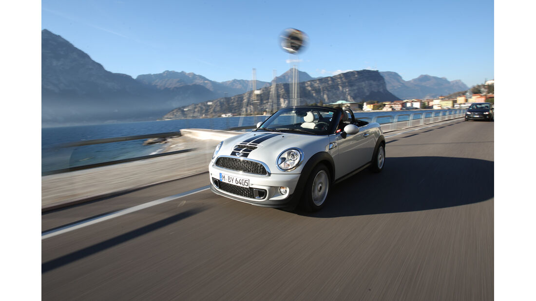 Mini Roadster Cooper S, Front, Hafen