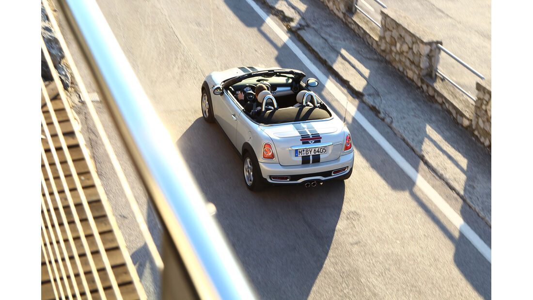 Mini Roadster Cooper S, Heck