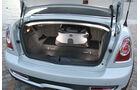 Mini Roadster Cooper S, Kofferraum