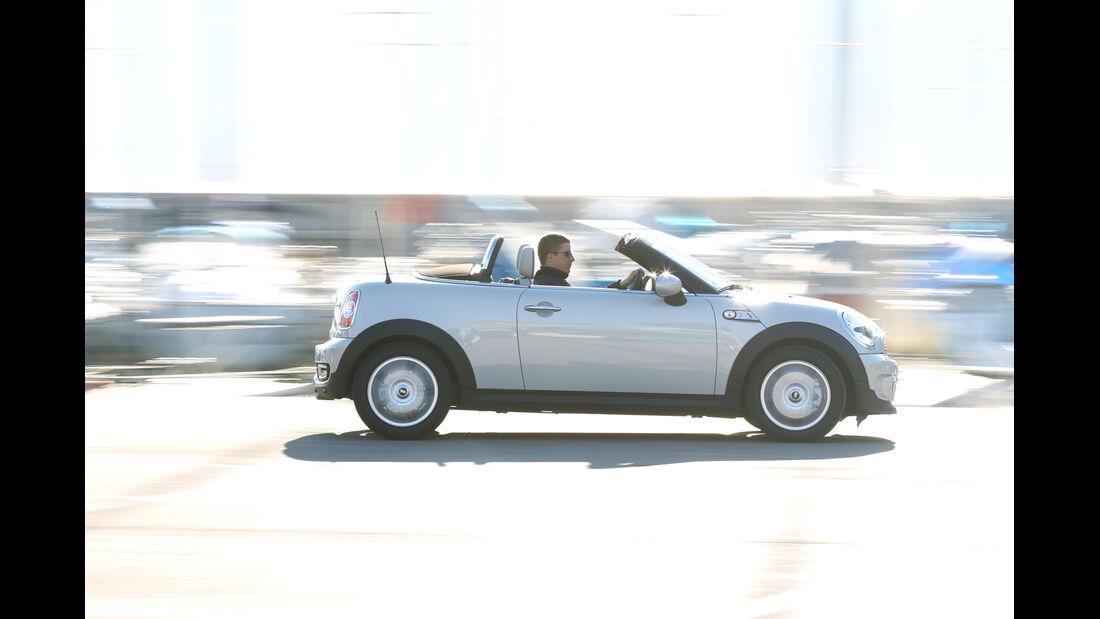 Mini Roadster Cooper S, Seitenansicht