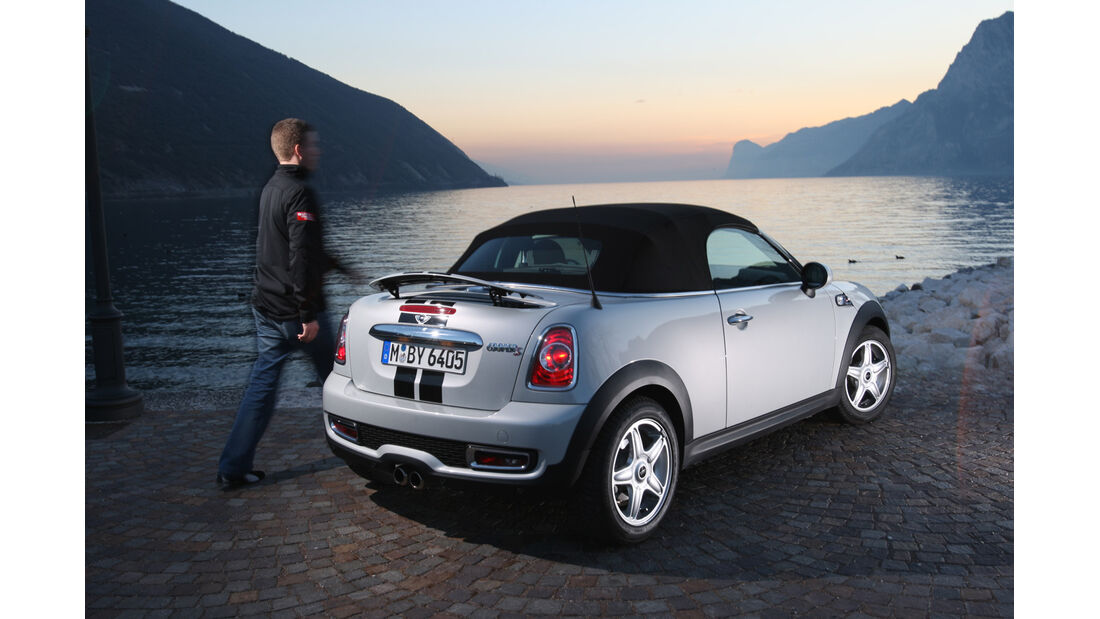 Mini Roadster Cooper S, Seitenansicht, See