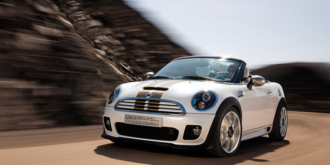 Mini Roadster, Front