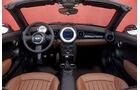 Mini Roadster, Innenraum, Cockpit