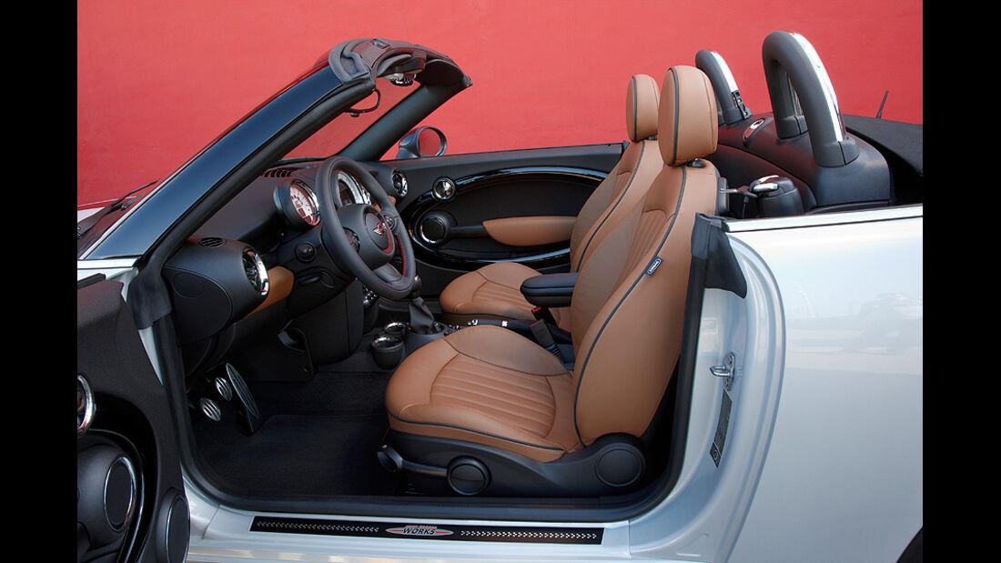 Mini Roadster, Innenraum, Sitze