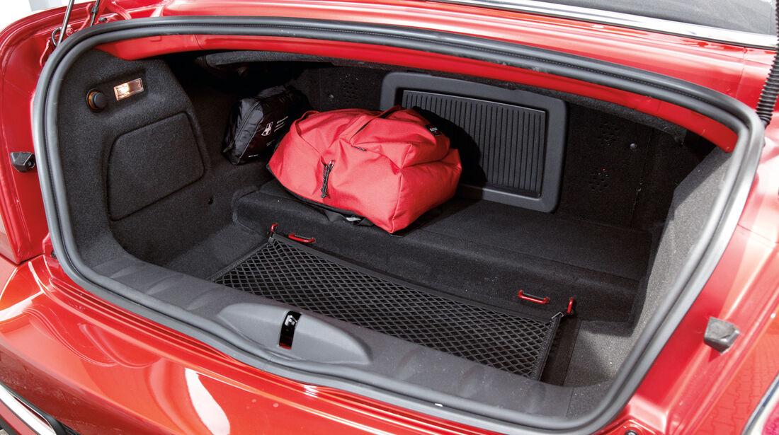 Mini Roadster, Kofferraum