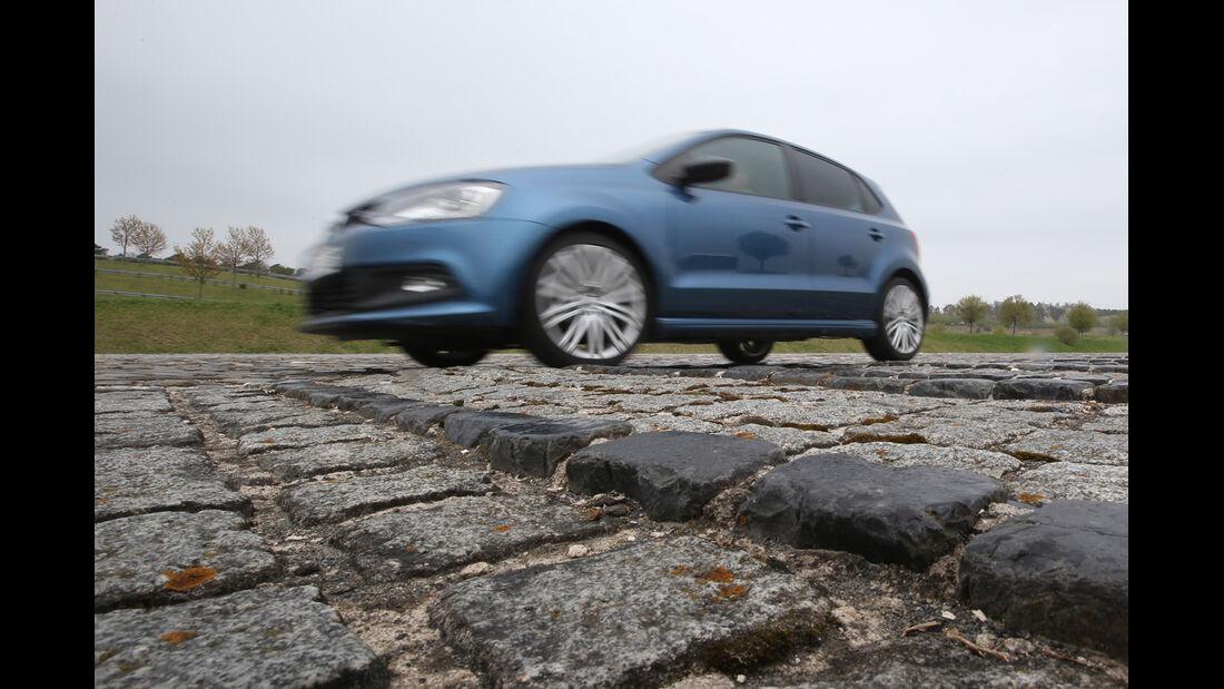 Mini, VW Polo, Fahrwerksvergleich