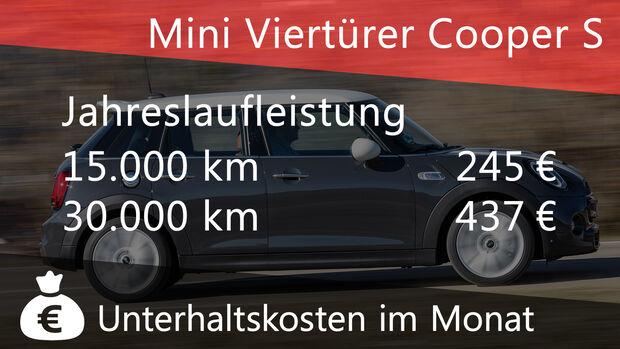 Mini Viertürer Cooper S