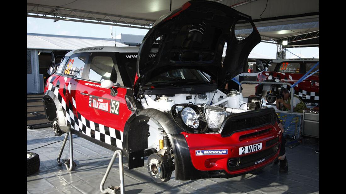 Mini WRC Rallye Sardinien 2011