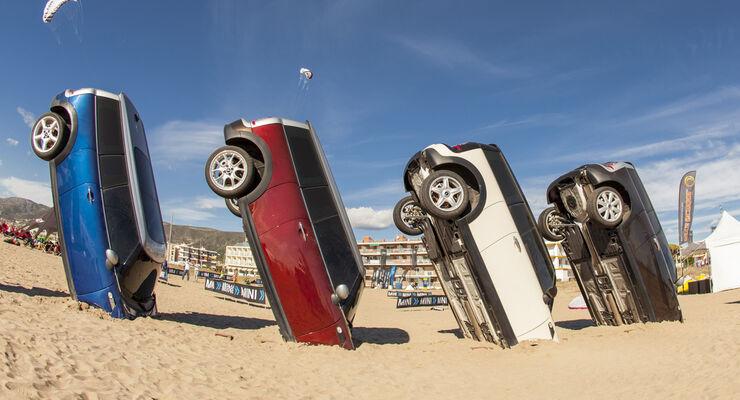 Mini Werbung Strand Castelldefels 2012