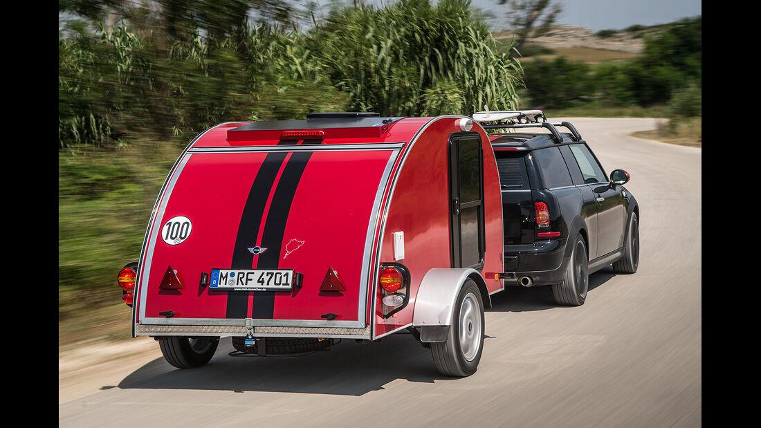 Mini Wohnwagen Cowler, 2013, Studie