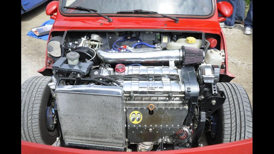 Mini mit Honda Motor