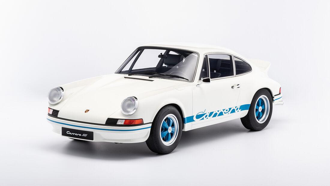 Minichamps Porsche 911 Carrera RS 2.7 Leichtbau von 1972 als Modellauto im Maßstab 1:8