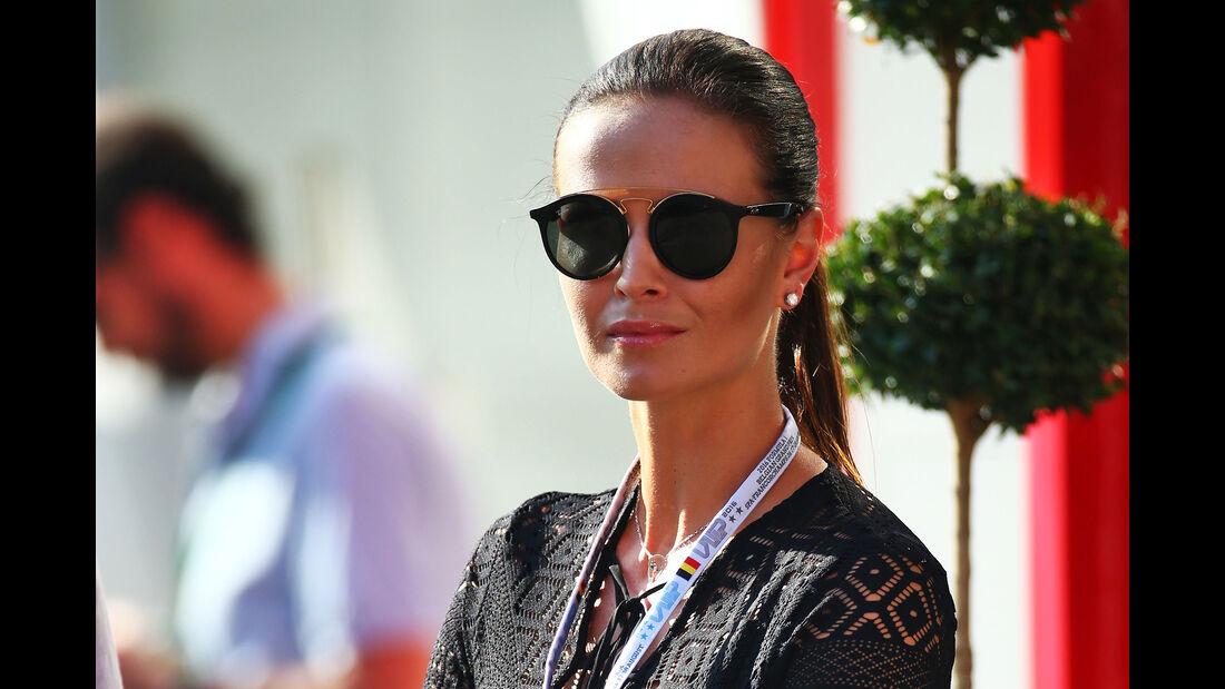 Minttu Virtanen (Frau von Kimi Räikkönen) - Formel 1 - GP Belgien - Spa-Francorchamps - 27. August 2016