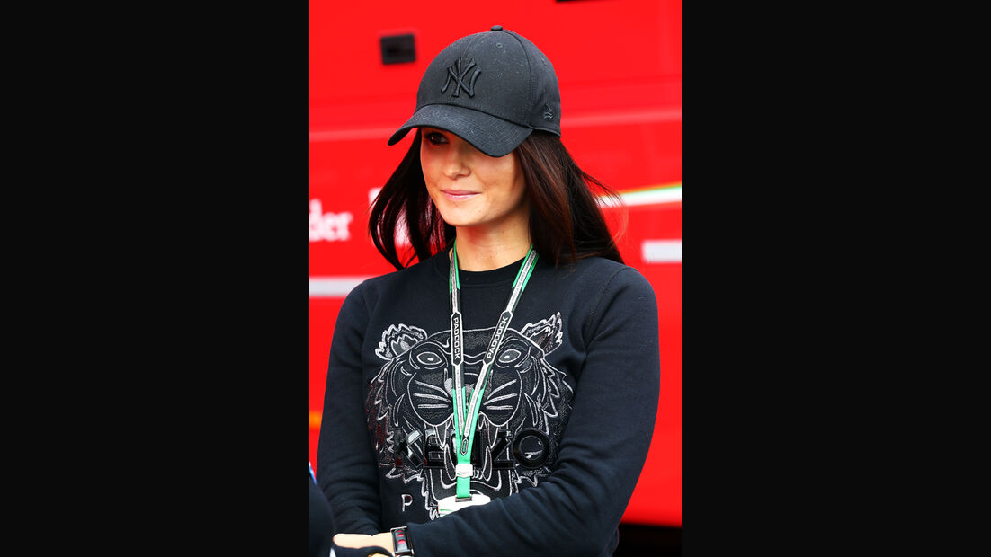 Minttu Virtanen (Freundin von Kimi Räikkönen) - Formel 1 - GP Italien - 5. September 2014