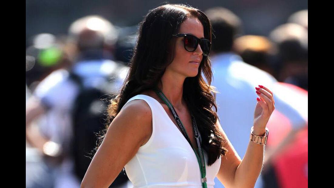Minttu Virtanen (Freundin von Kimi Räikkönen)   - Formel 1 - GP Italien - 6. September 2014