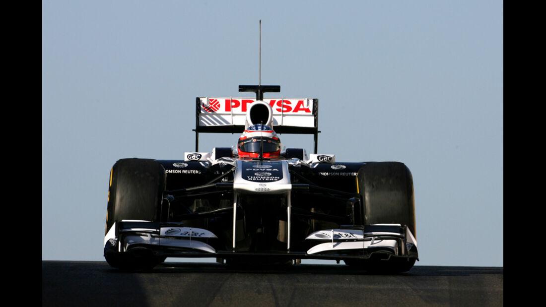 Mirko Bortolotti - Williams - Young Driver Test - Abu Dhabi - 17.11.2011