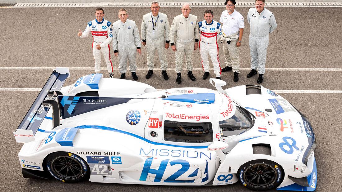 Mission H24 - Brennstoffzelle - 24h-Rennen Le Mans 2021