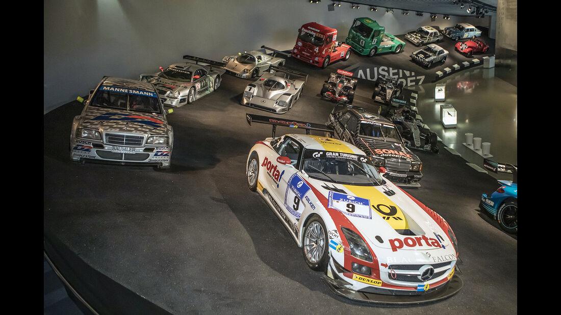 Mit Gorden Wagener im Mercedes-Museum
