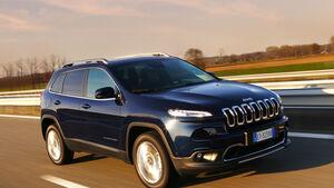 Mit Modellen wie dem Jeep Cherokee will Fiat-Chrysler wieder aus den roten Zahlen fahren.