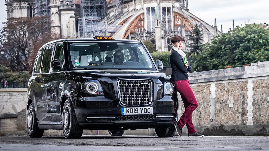 Mit dem London Taxi in Paris