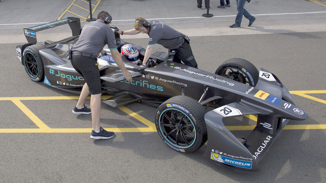 Mitch Evans - Jaguar - Formel E Test - Donington - 2016