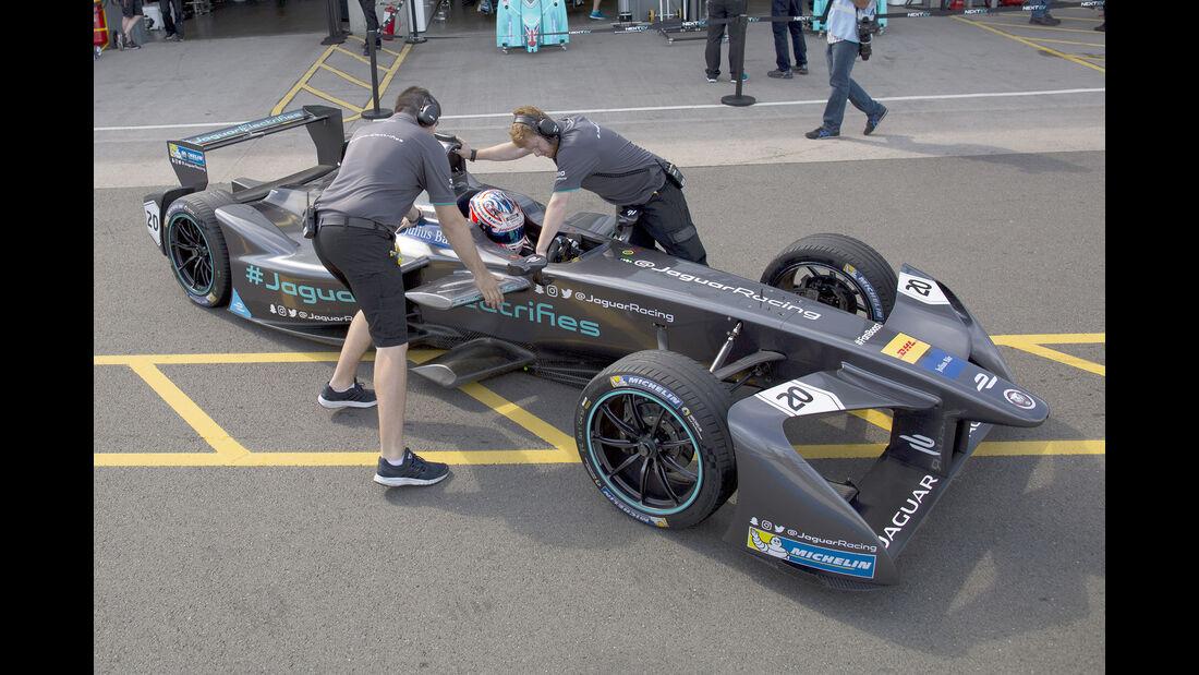 Mitch Evans - Jaguar - Formel E Test - Donington - 2016