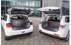 Mitsubishi ASX, Mitsubishi Outlander, Kofferraum