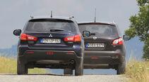 Mitsubishi ASX, Nissan Qashqai