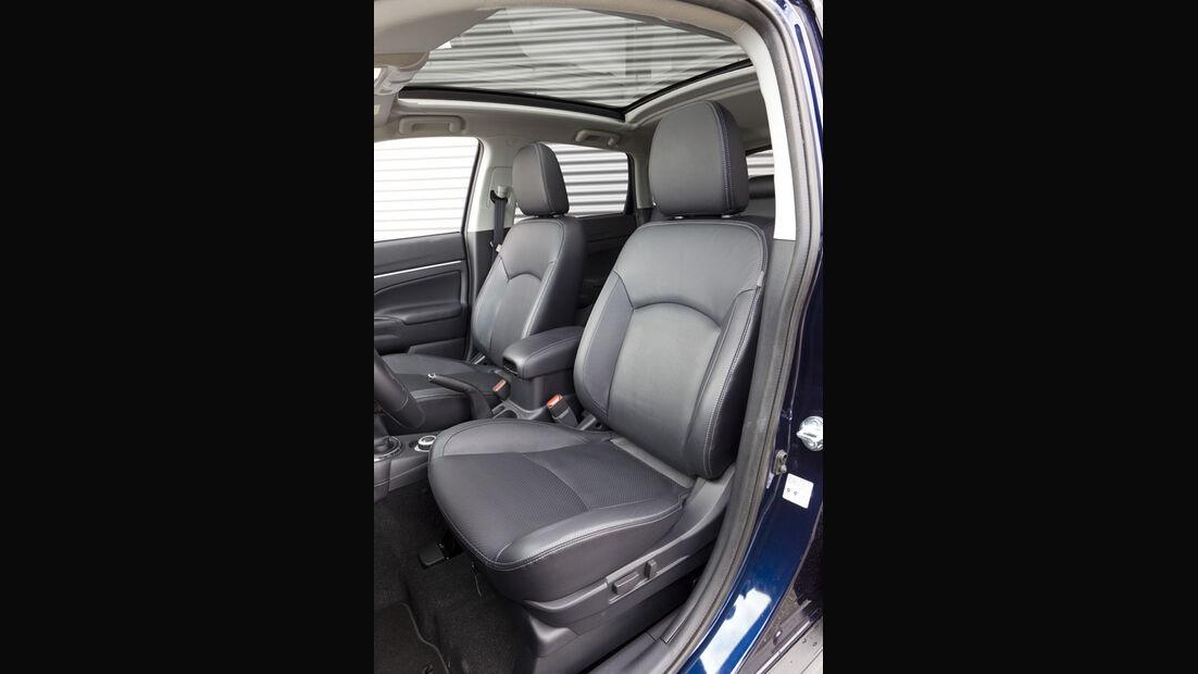 Mitsubishi ASX, Sitze
