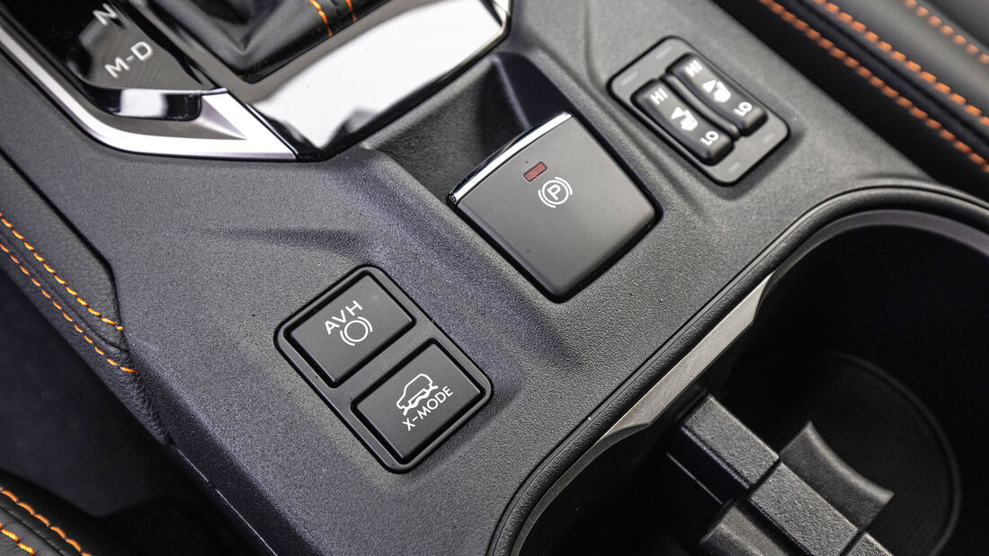 Mitsubishi ASX, Subaru XV Vergleichstest, ams 0121