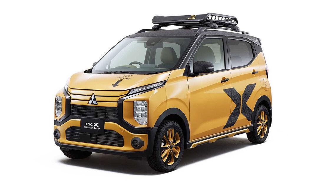 Mitsubishi Concept Cars Tokyo Auto Salon 2023