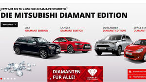 Mitsubishi Diamant Edition Screenshot