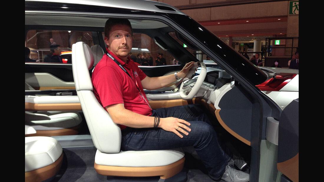 Mitsubishi GC PHEV Sitzprobe