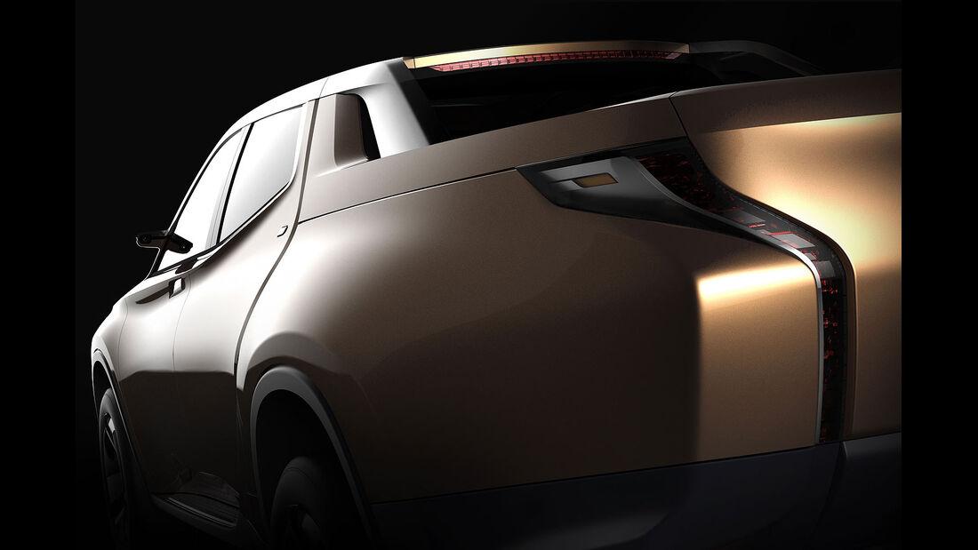 Mitsubishi GR-HEV Pickup Concept