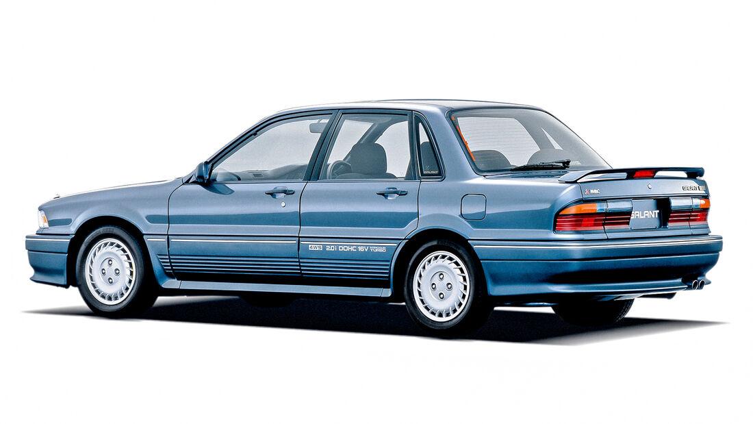 Mitsubishi Galant, Japanische Trendsetter