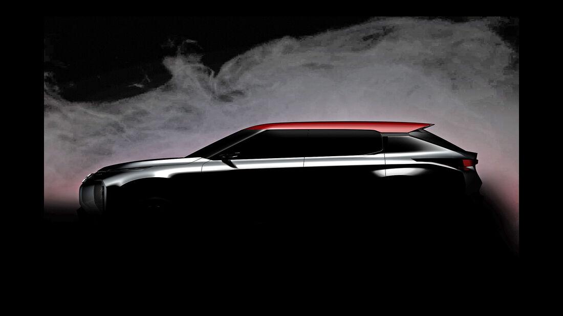 Mitsubishi Ground Tourer Concept Teaser