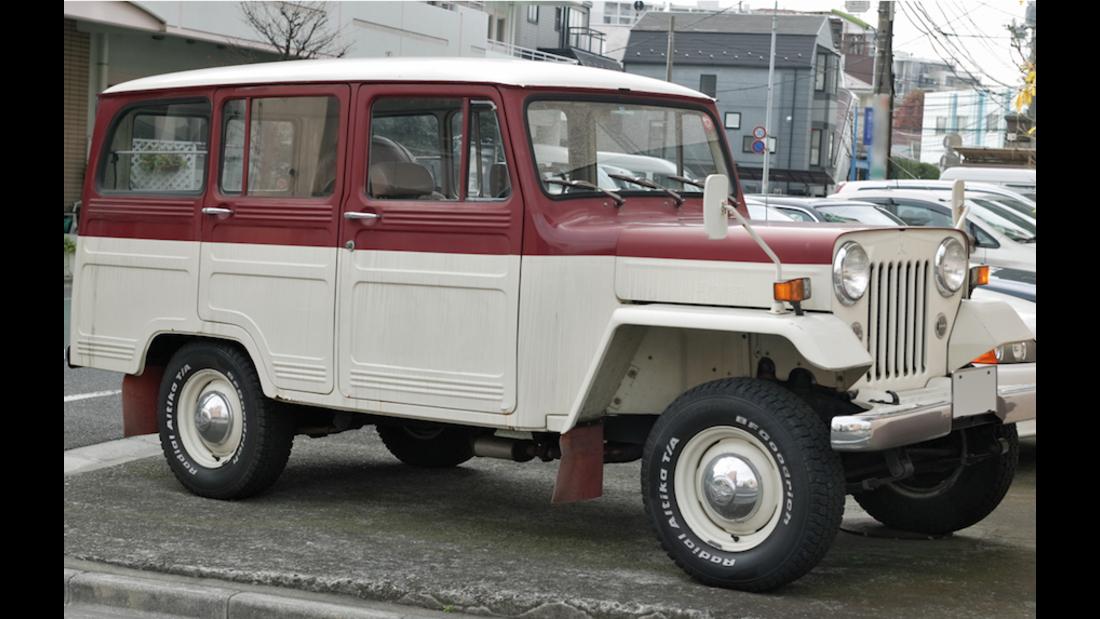 Mitsubishi Jeep CJ-3B