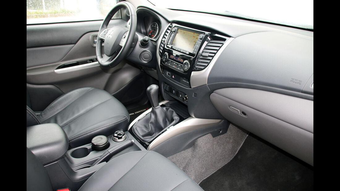 Mitsubishi L200 Modelljahr 2015 Einzeltest