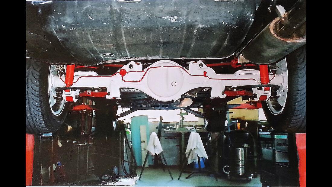 Mitsubishi Lancer 2000 Turbo ECI, Achsen